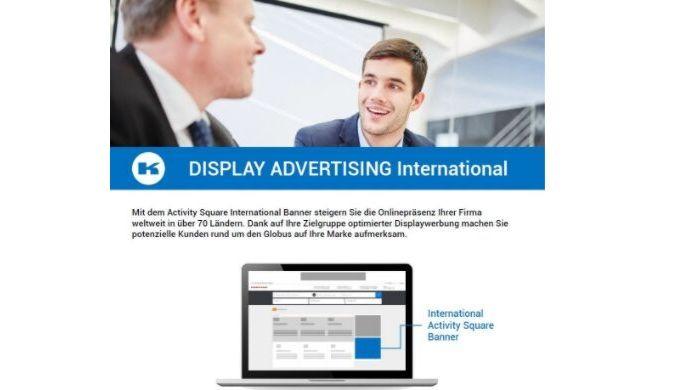 Mit dem Activity Square International Banner steigern Sie die Onlinepräsenz Ihrer Firma weltweit in ...