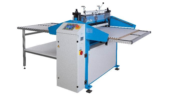 Leistungsfähige, hochpräzise Zackenmuster-Schneidemaschine. Für eine Vielzahl von Materialien geeign...