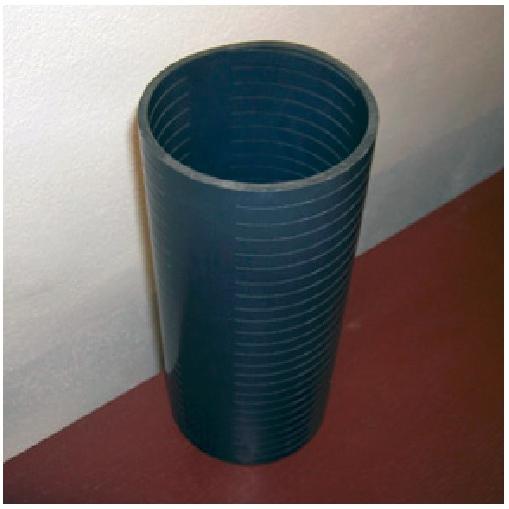 Štěrbinová perforace - plastových řezání rour / trubek