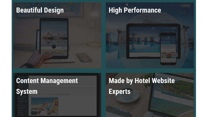 We design websites that convert lookers to bookers and increase profits
