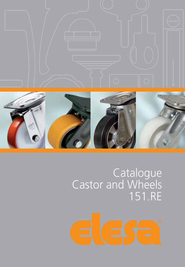 Elesa's 60 plus page catalogue of industrial castors and wheels covers a greatly extended range – by...