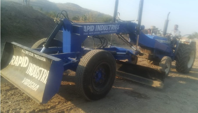 Call us on +91-7987366974 for more Informations. We Manufacture & Provide Grader attachment for your...