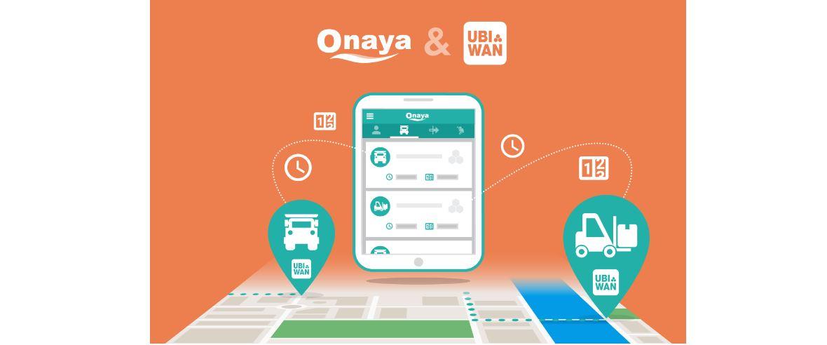Partenariat Onaya & Ubiwan®