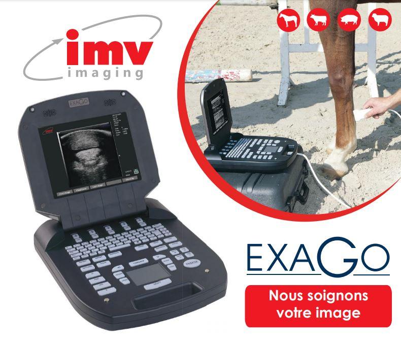 IMV imaging vous présente l'échographie portable par excellence : ExaGo. C'est un appareil portable,...