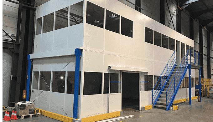 Cloisons d'aménagement des espaces Industriels X-WALL