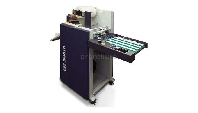 Pelliculeuse GMP QTOPIC 380 F ,Un max d'applications de pelliculage Différentes finitions de pellicu...
