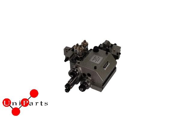 Zweispindel Gegenbohrgerät Typ 32AA für eine Drehautomaten Teile von Tornos