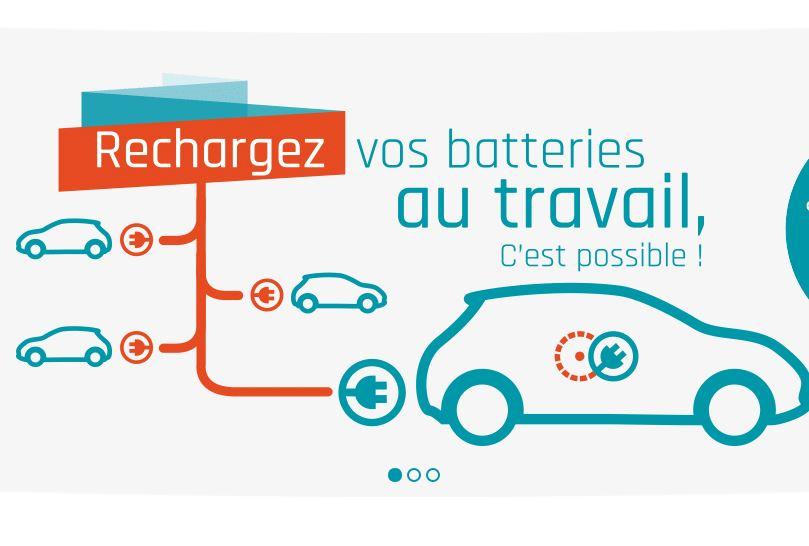 Offre complète pour la recharge de véhicules électriques sur le lieu de travail pour entreprise