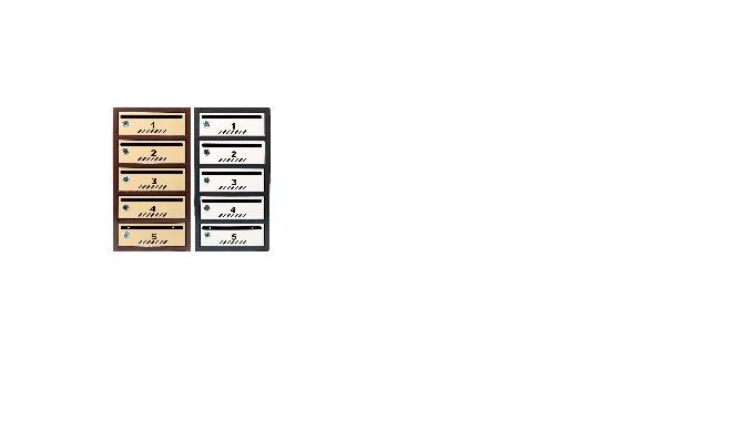 Euromag este locul unde poti gasi o gama completa de cutii postale modulare si aviziere pentru bloc ...