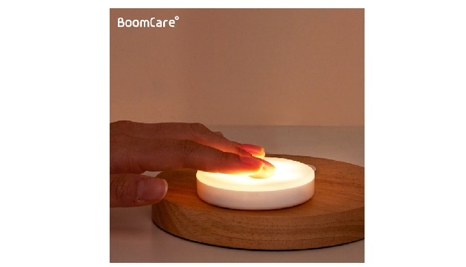 ISPROBE BoomCare Touch LED Rechargeable Brightness Control Baby Nursery Lamp