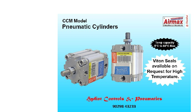Hydint Controls & Pneumatics is a leading manufacturer & supplier of Pneumatic Cylinder in Nagdevi, ...