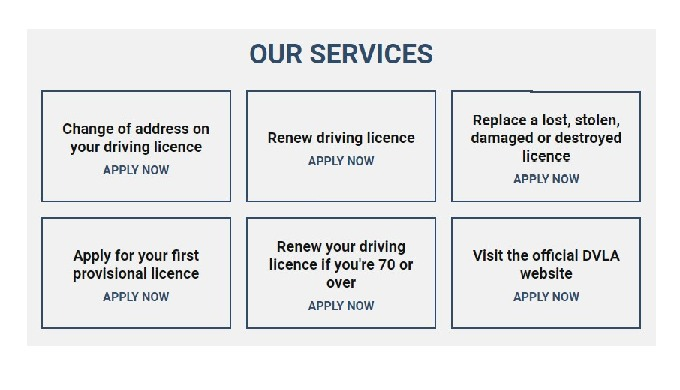 Driving Licence Application Services is a third party check and send service, we specialise in helpi...