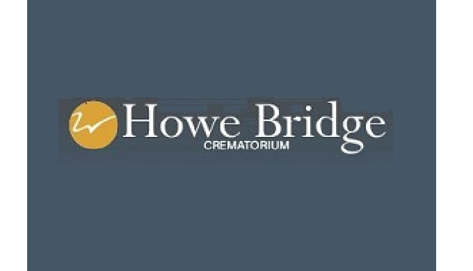 Howe Bridge Crematorium in Greater Manchester. Spacious chapel, well maintained gardens, natural bri...