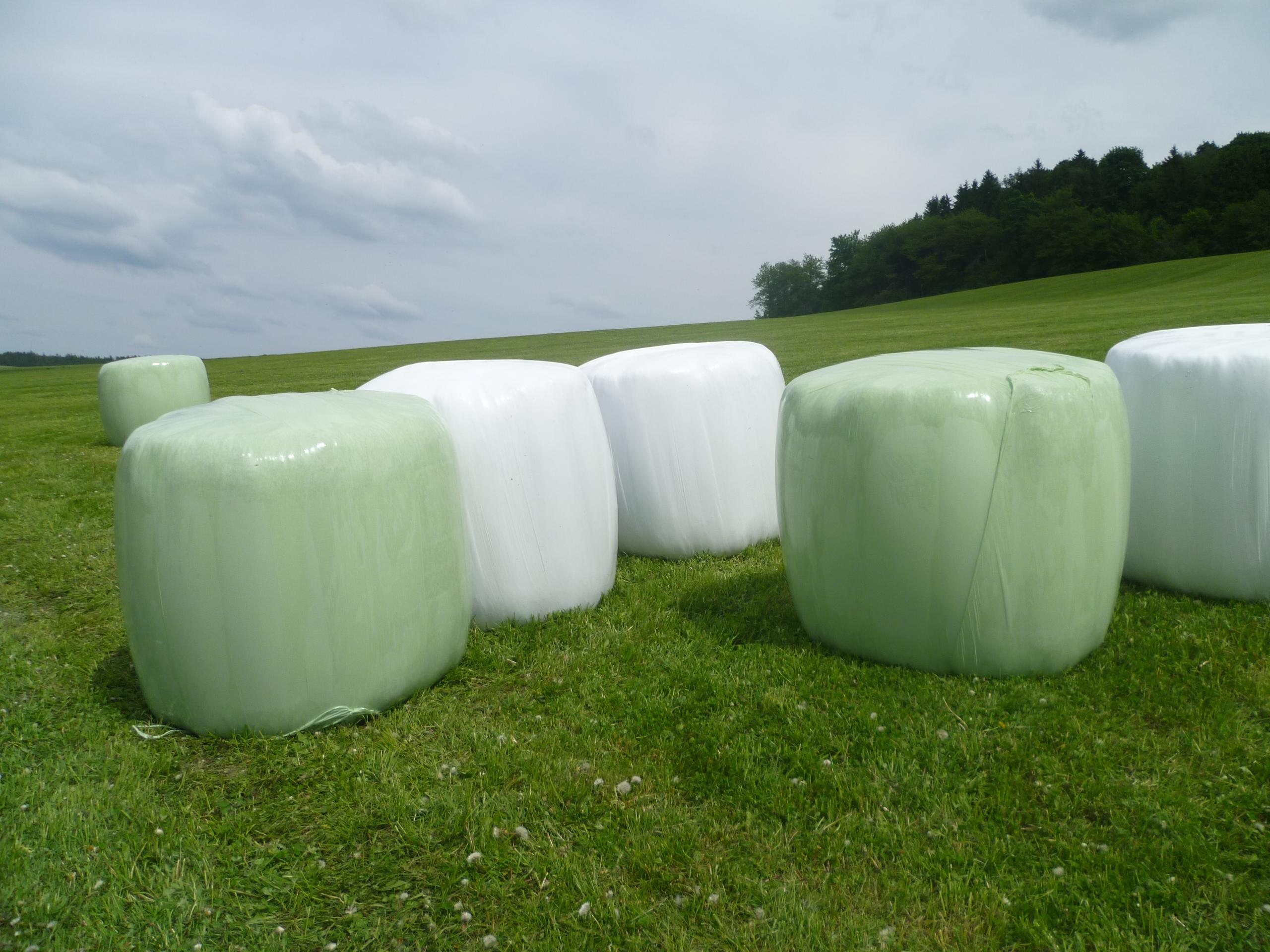 Zemědělská ovíjecí strečová fólie