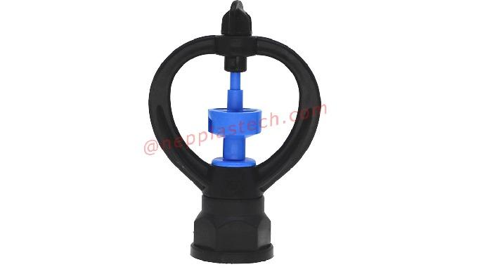 360 spray full circular micro sprinklers 3/4 inch Lawn irrigation rotary butterfly sprinkler Thread:...