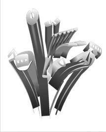 Návrh a výroba vytlačovaných pryžových profilů a těsnění