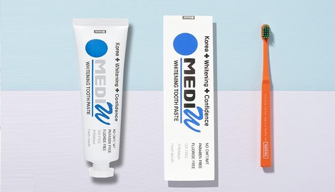 MEDIW_H2O2 Whitenig toothpaste