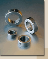 Set collars (clamping rings) DIN 705 and DIN 703