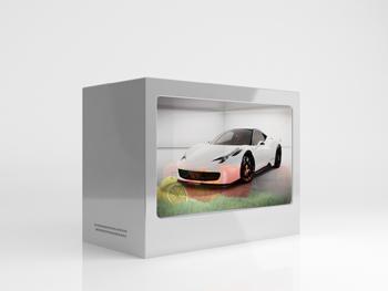 Transparent Multi Industrial Display