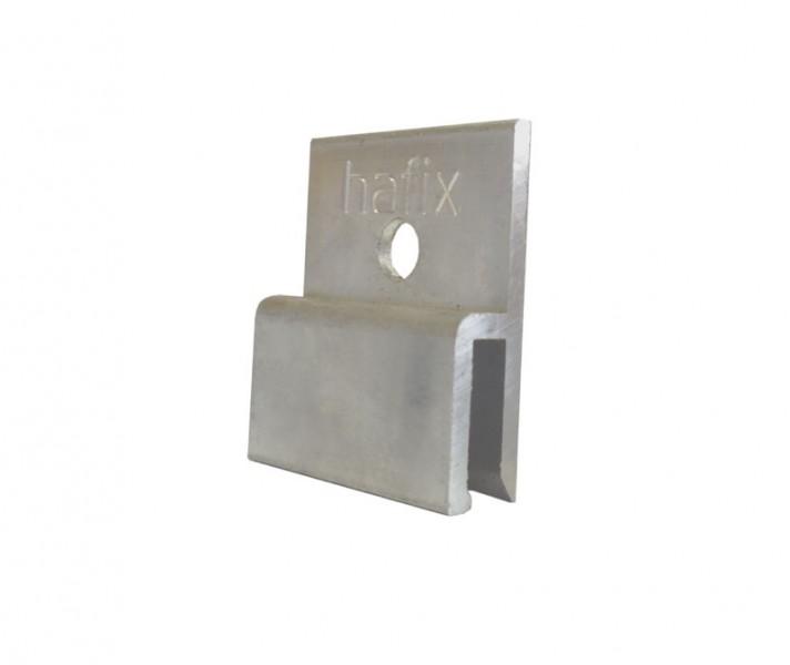 h-úchyty jsou připevňovány na obkladový materiál a pomocí nich jsou desky zavěšeny na vodorovný Z pr...