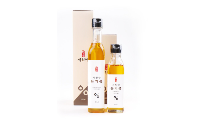 Raw perilla Oil Seowondang raw perilla oil used only by the best raw perilla seeds grown directly in...