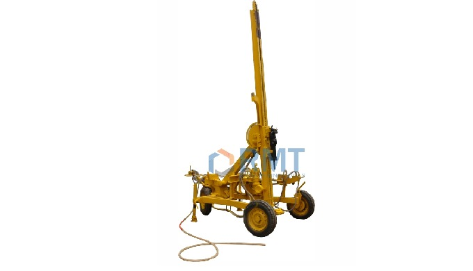 """The Top Hammer version of RMT Wagon Drill is equipped with very high performer pneumatic drifter """"RM..."""