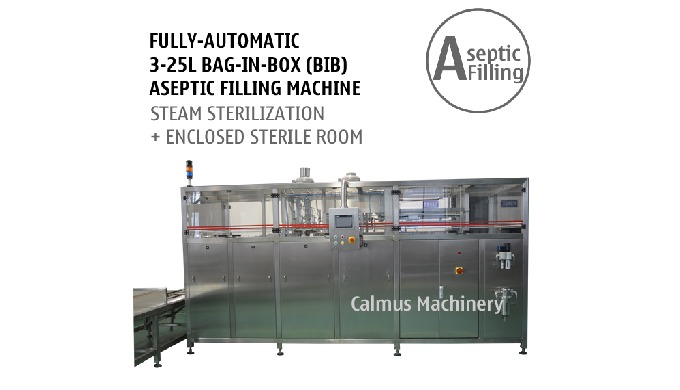 Fully-automatic BIB Aseptic Filling System   Bag in Box Aseptic Filler This Fully-automatic BIB Asep...