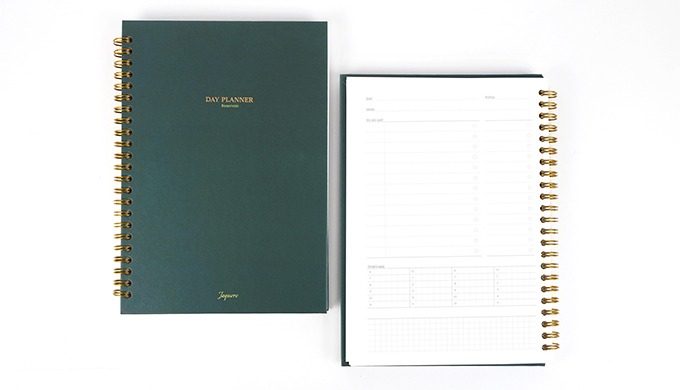 Reservoir Day Planner A5 (Hard Cover)
