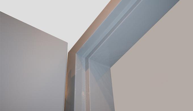 Huisseries bois résineux non feu : • Huisserie en Pin lamellé collé pour portes à chants droits asse...
