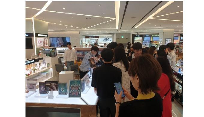 Open a new location at Sinsegae Gangnam department store