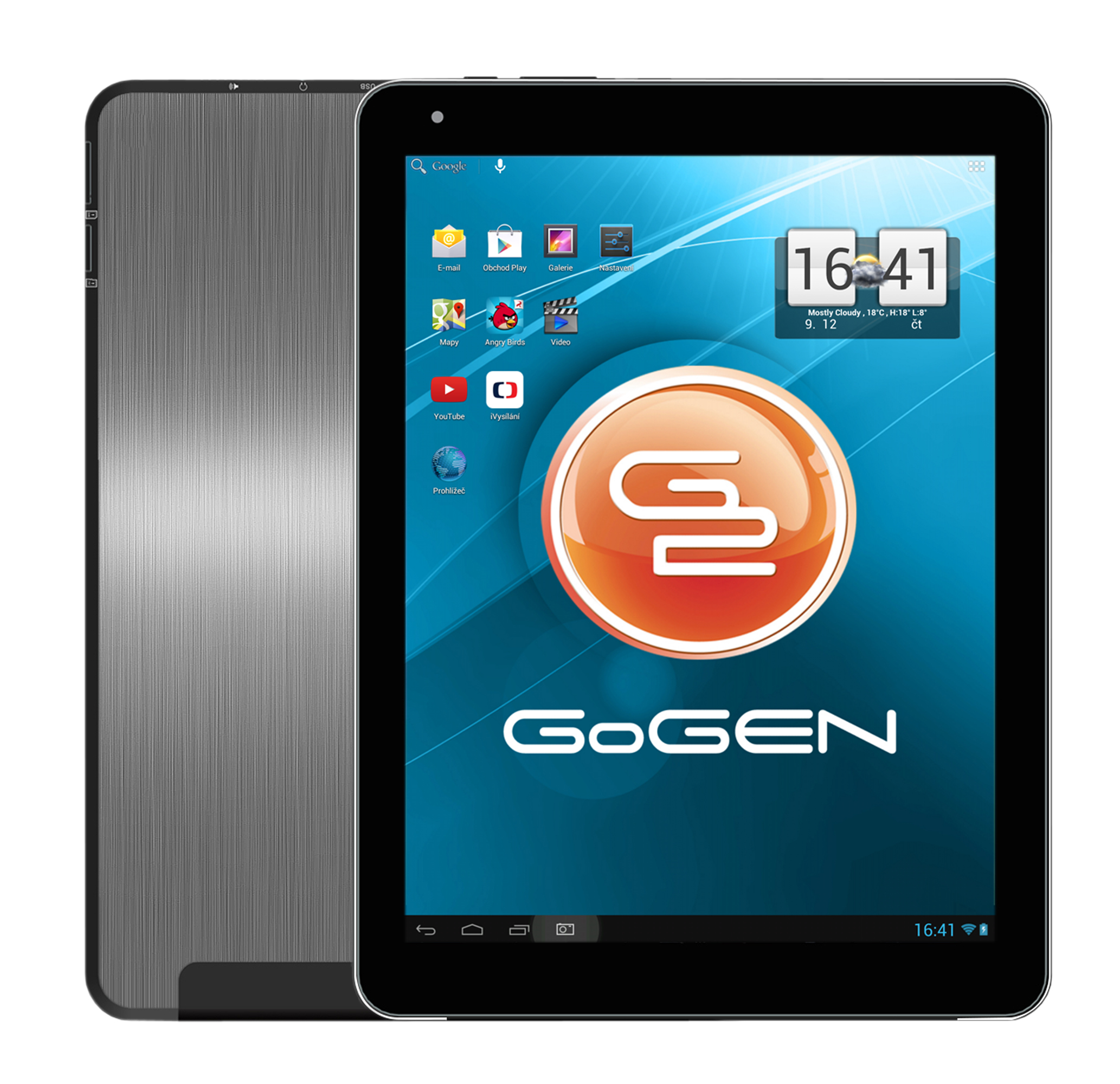 Tablet značky GoGEN TA10300 nabízí vysoký výkon za přijatelnou cenu. O výkon se zde stará čtyřjádrov...