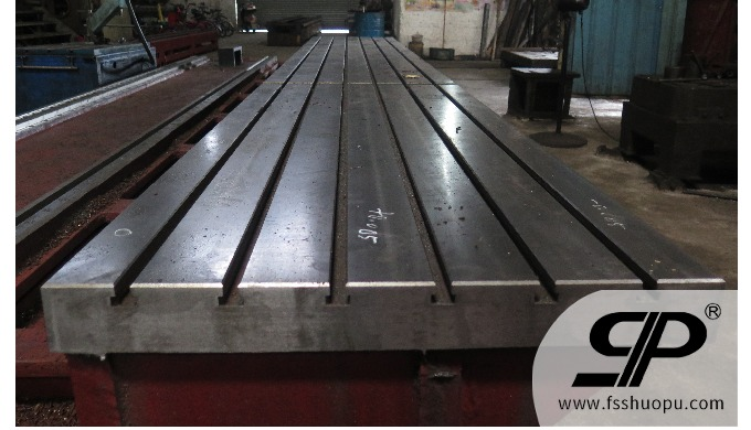 fabrocation and machining guide rail base for Ceramic production line steel plate: thickness is not ...