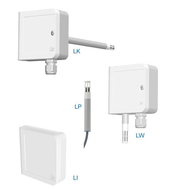 Feuchte- und Temperatursensoren für HLK-Anwendungen