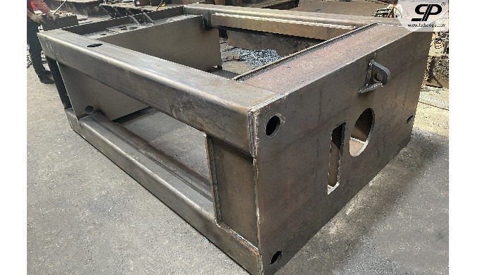 OEM big size steel frame for die spotting machine 1. steel plate: thickness is not limited -- no mat...
