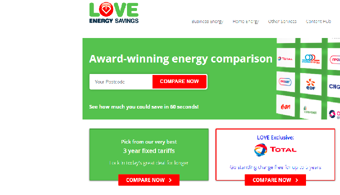 We are the leading energy comparison site for business and domestic customers across the UK.