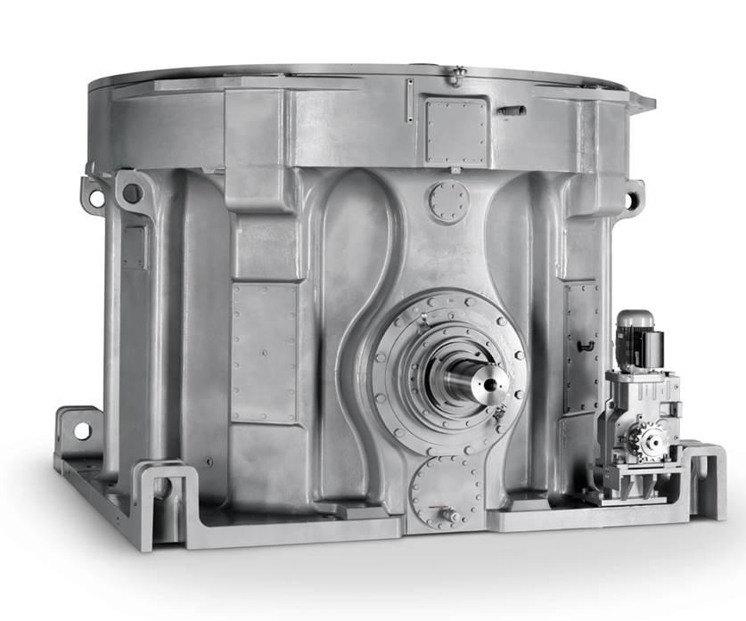 Planetengetriebe / geräuscharme / für Vertikalmühle / für die Zimentindustrie