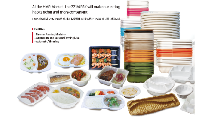 At the HMR Market, the ZZIM PAK will make our eating habits richer and more convenient. Facilities -...