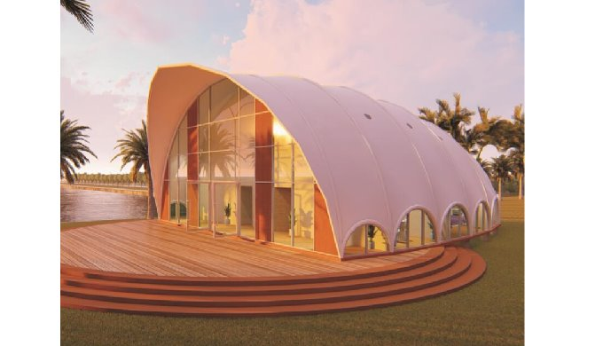 Luxurious Cocoon Tent Can Serve As Guest Suite Hotel Studio And Office Space With Best Price By Sichuan Xinyaju Modular House Co Ltd