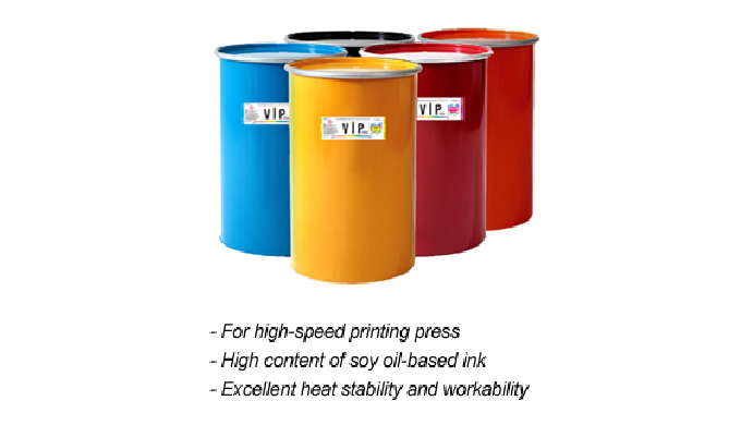 Web coldset ink or  Web Heatset ink