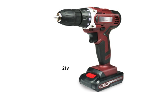 Multi-function Rechargeable Radio Drill Home Tool, adjustable speed, positive and negative rotation....