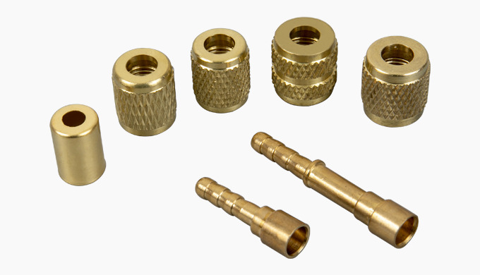 Rubber freon hoses for car air-conditioning installations are mounted with special fittings made of ...