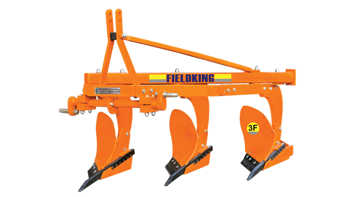 The mould board plough manufactured by Fieldking is designed to work in all types of soil, for soil ...