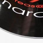 La plaque aimantée imprimée est très souvent utilisée sur les véhicules et aussi sur toute les surfa...