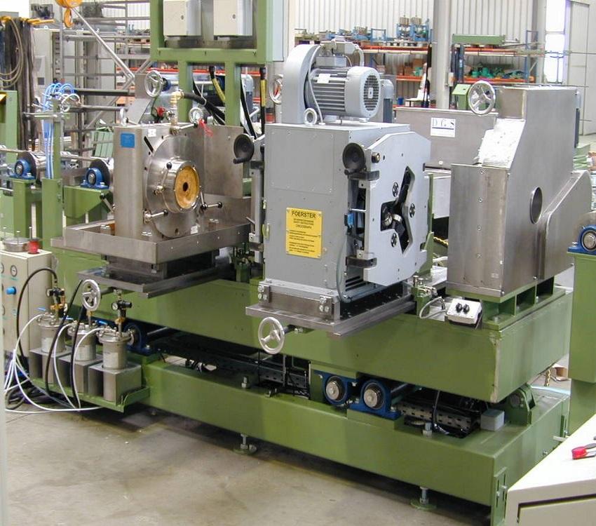 Kontrolní tratě trubek a tyčíNedestruktivní kontrola trubek a tyčí je nutným vybavením při výrobě kv...