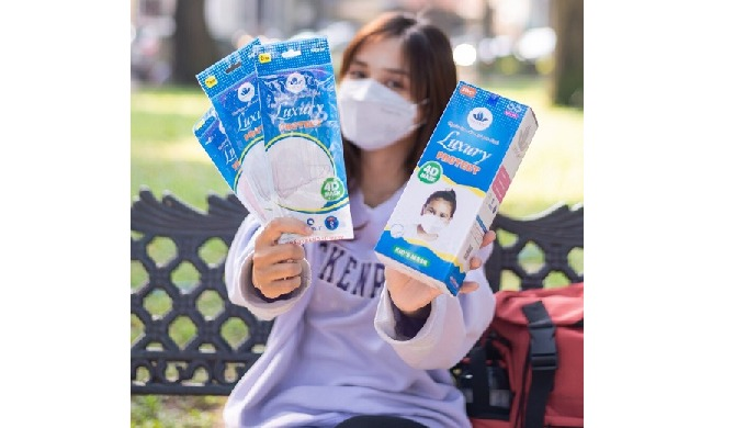 Product Description Product Name: Disposable Luxury Kid Protect Mask Material: Non-woven Fabrics, Me...