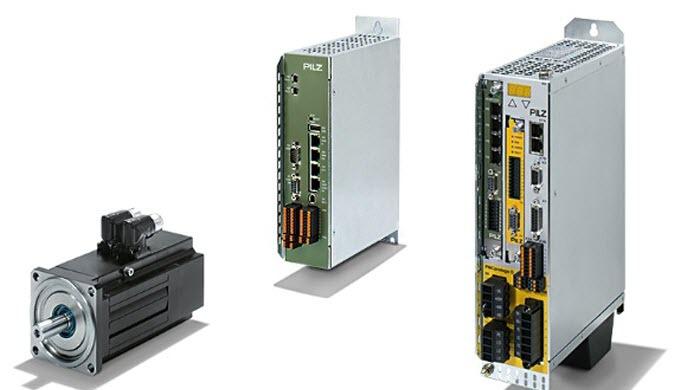 Mit der Servo-Antriebstechnik von Pilz erhalten Sie sichere und energieeffiziente Lösungen für die A...