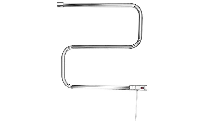 The electric towel warmer has the function of drying and sterilizing.Energy saving, environmental pr...