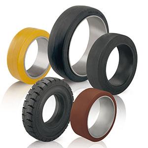 Ersatz-Reifen und Bandagen