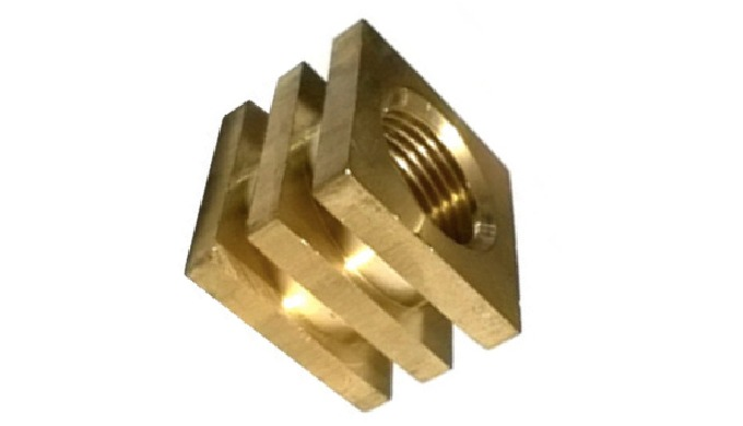 Brass Square Moulding Nut