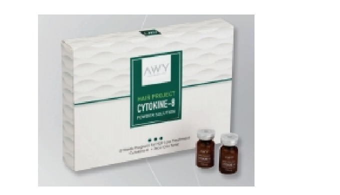 Cytokine hairloss solution